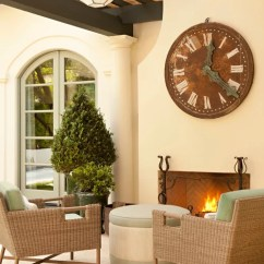 Oversized Couches Living Room Furnishing Small 14x14 Clock Over Fireplace | Houzz