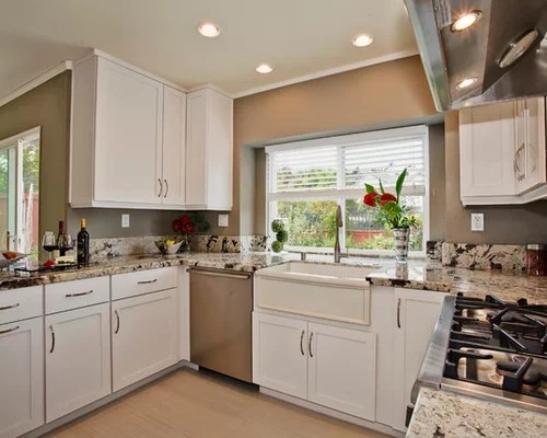 san diego kitchen remodel corner storage painted maple cabinets | houzz