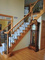 Wrought Iron Stairs Home Design Ideas, Pictures, Remodel ...