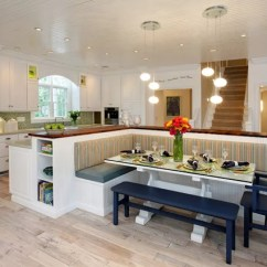 Kitchen Booths Countertops 18 With Laid Back Charm Contemporary By Jeff Sheats Designs Inc