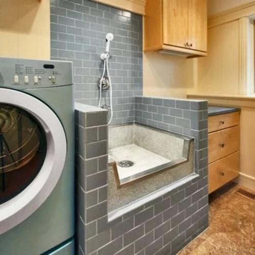 dog wash what basin tub pan to use