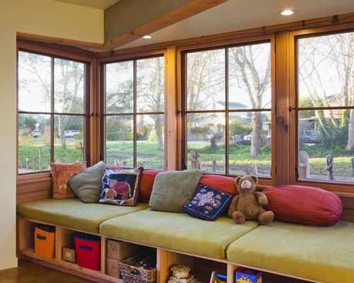 Sunroom Bench Seat Houzz