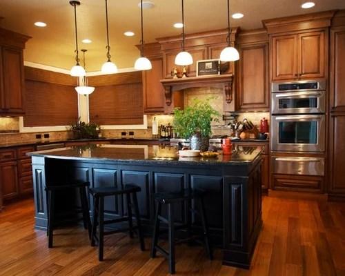 Contrasting Kitchen Island Ideas Pictures Remodel and Decor