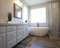 Contemporary Bathroom Remodel in Modesto (bC Crestmont Way)