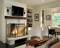 Fireplace Sconce Ideas, Pictures, Remodel and Decor