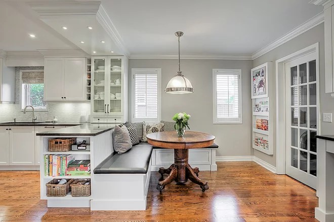 Transitional Kitchen by Cabico Custom Cabinetry