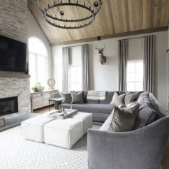 Lighting Ideas For Living Room High Ceiling Small Country Style Contemporary Fireplace   Houzz