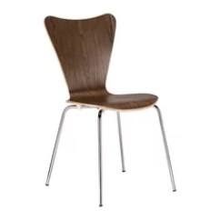 Houzz Dining Chairs Contemporary Toddler Plastic Table And Tesco 50 Most Popular Modern Room For 2019 Edgemod Furniture Elgin Side Chair Walnut Set Of 4