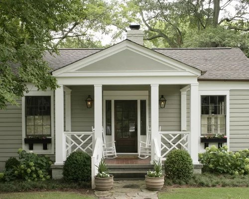 Ranch Style Front Porch Houzz