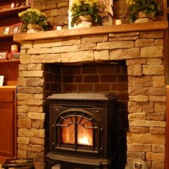 Living Room Design Pictures Remodel Decor And Ideas Floral Chairs Faux Stone Fireplace Home Ideas, Pictures, ...