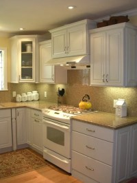 Small White Kitchen Home Design Ideas, Pictures, Remodel ...