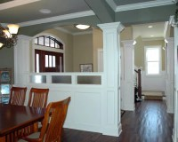 Entry Half Wall Ideas, Pictures, Remodel and Decor