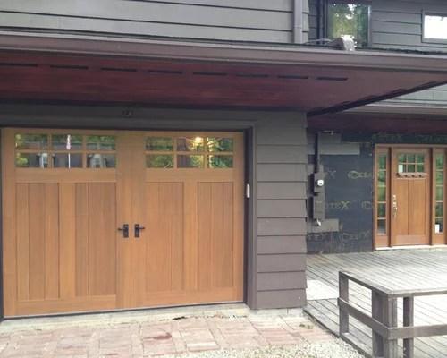 Craftsman Garage Doors Ideas Pictures Remodel and Decor