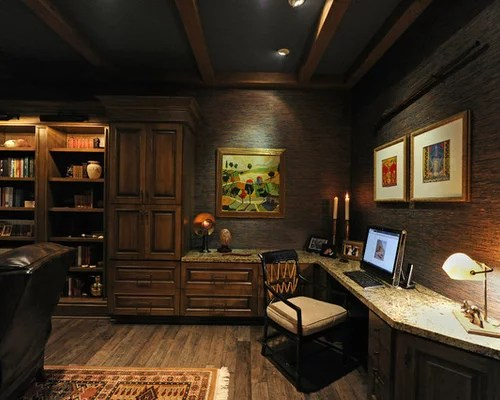 Dark Wood Bookcase Home Design Ideas Pictures Remodel and Decor