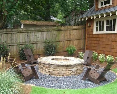 outdoor firepit design ideas &