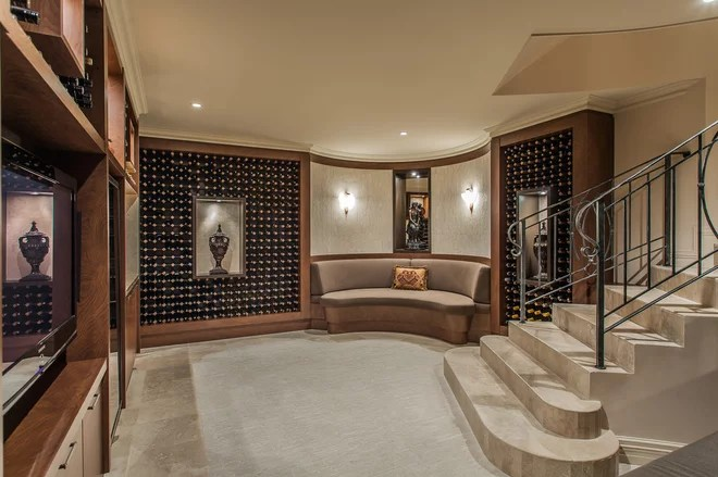 Mediterranean Wine Cellar by Putragraphy