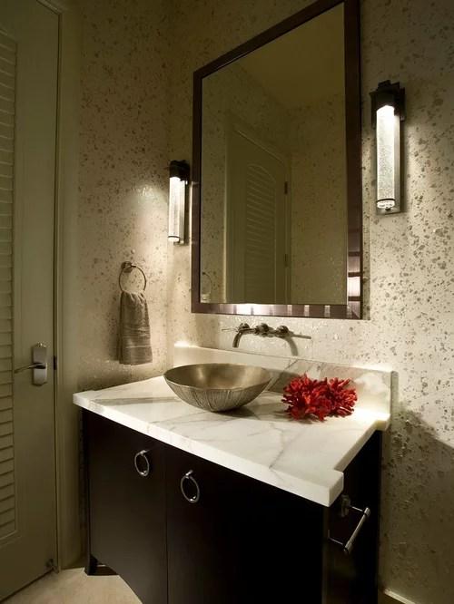 6257 Modern Powder Room Design Ideas  Remodel Pictures  Houzz