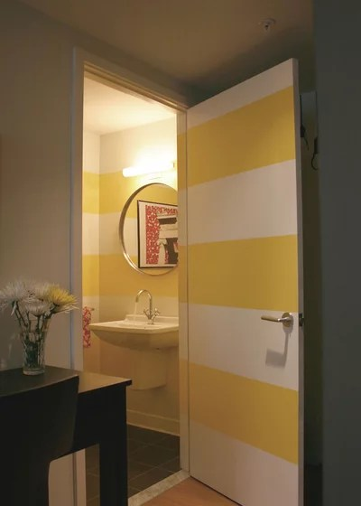 Tren bunt streichen oder mit Mustern lackieren So kann man Tren kreativ gestalten