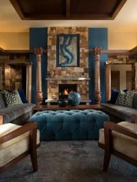 Living Room Design Ideas, Renovations & Photos with Slate ...