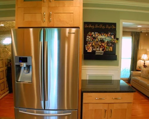 Houzz  StandAlone Refrigerator Design Ideas  Remodel