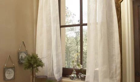 to hang curtain with window frame
