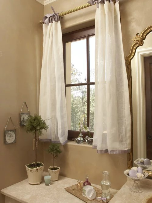 Bathroom Window Curtain Home Design Ideas, Pictures