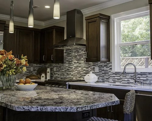 kitchen sink with cutting board quality cabinet brands blue flower granite home design ideas, pictures, remodel ...