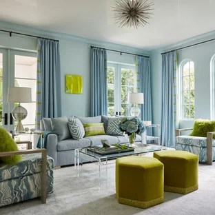 formal living room design unique small rooms 75 most popular ideas for 2019 stylish coastal photo in miami with blue walls