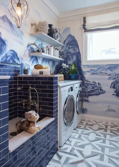 Laundry Room by Margot Hartford Photography