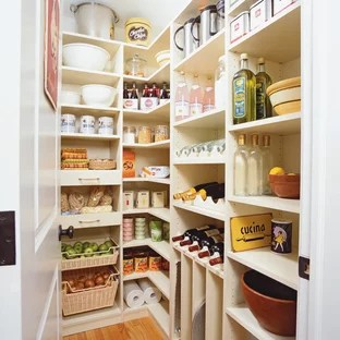 kitchen closets countertops quartz 75 most popular pantry design ideas for 2019 stylish large traditional designs example of a classic l shaped light wood