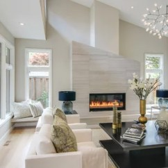 Contemporary Living Rooms With Fireplaces Black And White Room Ideas 75 Most Popular Design For 2019 Large Trendy Formal Enclosed Light Wood Floor Beige Photo In San