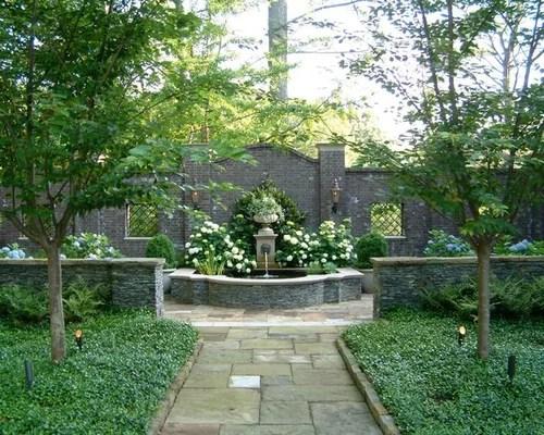 courtyard gardens home design ideas