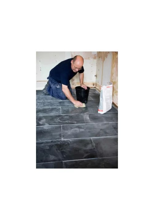 slate flooring for an old house kitchen