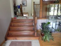how to finish staircases