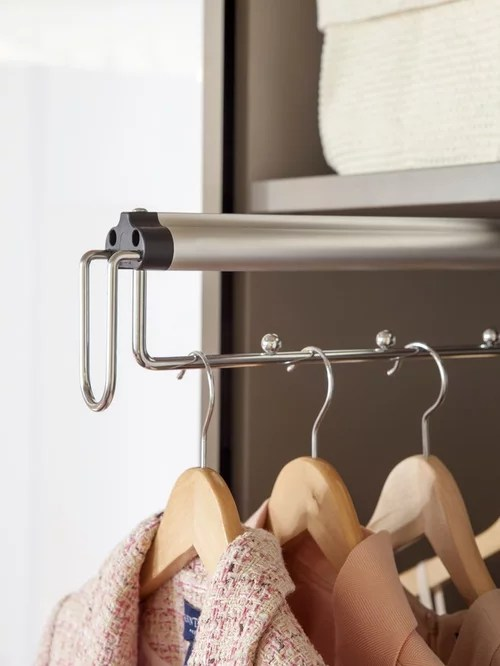 Front to Back PullOut Hanging Rods