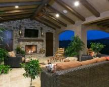 outdoor veranda