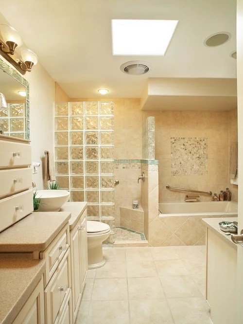 Best Glass Block Shower Wall Design Ideas  Remodel