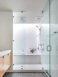 Small Rain Shower Sunken Tub Combo   Houzz