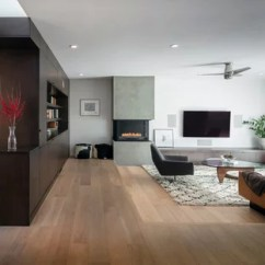 Contemporary Living Rooms With Fireplaces Loungers For Room 75 Most Popular Design Ideas 2019 Inspiration A Large Open Concept Light Wood Floor And Brown Remodel