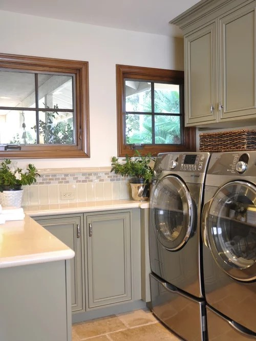 metal kitchen rack tile patterns small laundry room home design ideas, pictures, remodel ...