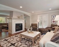 Center Room Fireplace Home Design Ideas, Pictures, Remodel ...