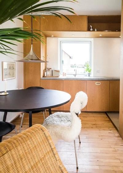 Scandinavian Kitchen by FRIER Architecture