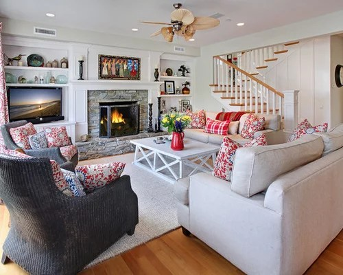 Best Cape Cod Living Room Design Ideas & Remodel Pictures