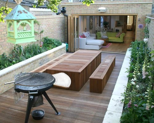 Beer Garden Table And Bench Houzz