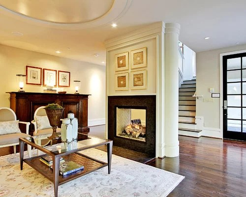 Two Way Fireplace