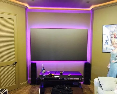 Projector Screen Led Lights