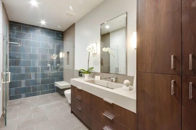Contemporary Bathroom by Design Loft Company