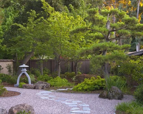Backyard Japanese Garden Design Houzz