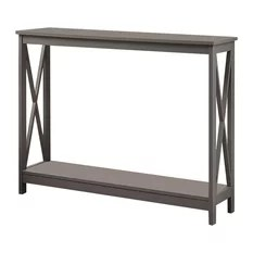 convenience concepts oxford console table gray console tables