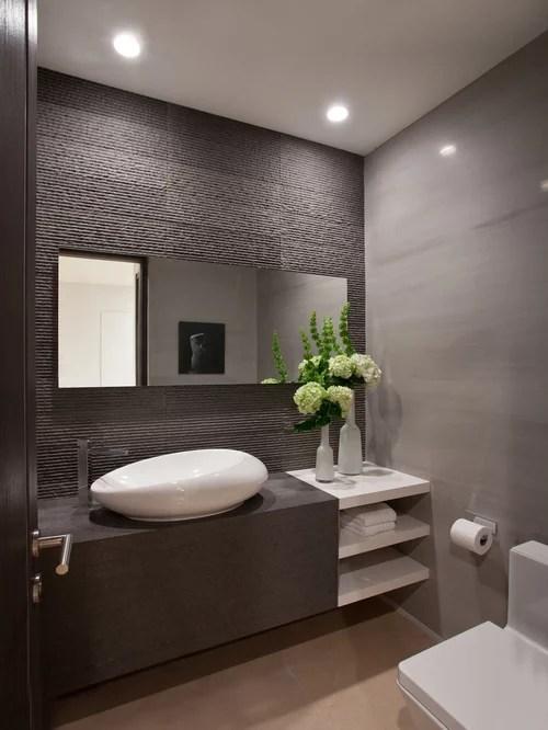 Contemporary Powder Room Design Ideas Remodels  Photos
